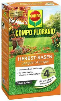 Compo Floranid Herbstrasendünger mit Langzeitwirkung 3 kg