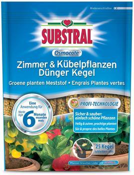 Substral Osmocote Zimmer- und Kübelpflanzen Dünger Kegel (25 Stück)
