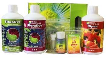 GHE TriPack Flora Series 500 ml (hartes Wasser)