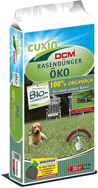 Cuxin DCM Rasendünger Öko 10,5 kg