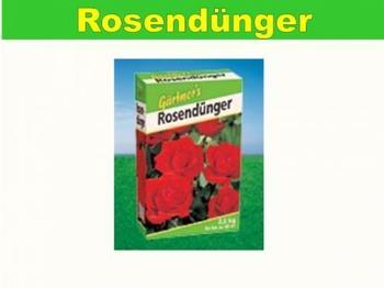 Gärtner's Rosendünger 2,5 kg
