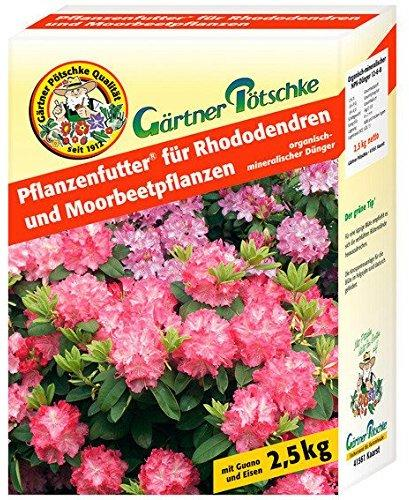 Gärtner Pötschke Pflanzenfutter für Rhododendren 2,5 kg