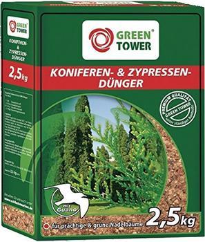 Green Tower Koniferen- und Zypressendünger 2,5 kg