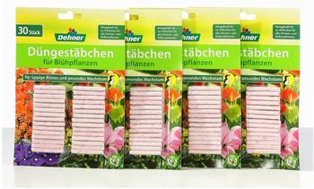 Dehner Düngestäbchen für Blühpflanzen 4 x 30 Stück