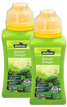 Dehner Bonsaidünger 2 x 250 ml