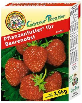 Gärtner Pötschke Pflanzenfutter für Beerenobst 2,5 kg