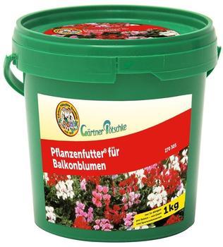 Gärtner Pötschke Pflanzenfutter für Balkonblumen 1 kg