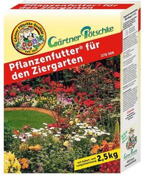 Gärtner Pötschke Pflanzenfutter für den Ziergarten 2,5 kg