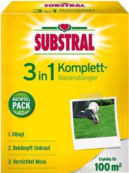 Substral 3-in-1 Komplett Rasendünger 3,6 kg