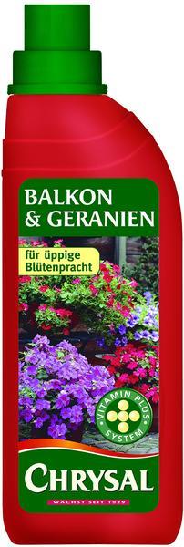 Chrysal Flüssigdünger für Balkonpflanzen und Geranien 500 ml