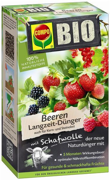 Compo Bio Beeren Langzeitdünger mit Schafwolle 2 kg
