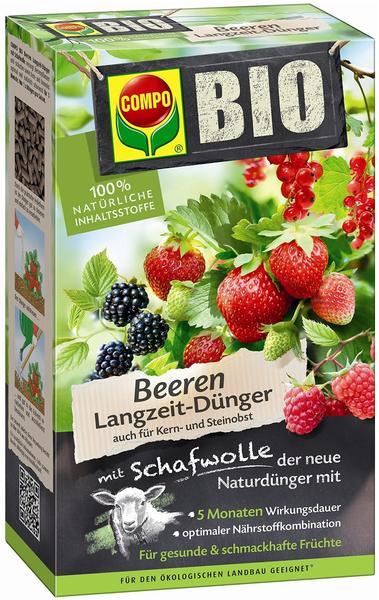 Compo Bio Beeren Langzeitdünger mit Schafwolle 750 g