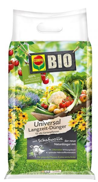 Compo Bio Universal Langzeit-Dünger mit Schafwolle 10,05 kg