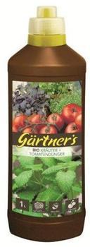 Gärtner's Bio Kräuter + Tomatendünger 1 Liter