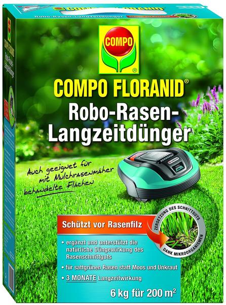 Compo Floranid Robo-Rasen-Langzeitdünger 6kg