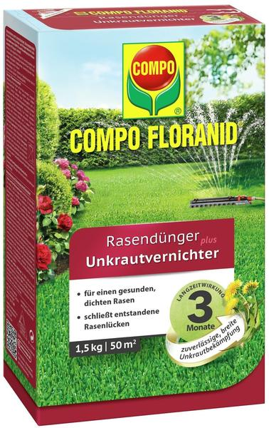 Compo Floranid Rasendünger plus Unkrautvernichter 1,5kg
