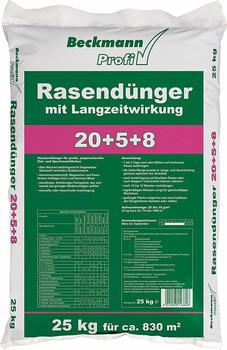 Beckmann Rasendünger Langzeitwirkung 25kg