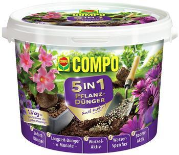 Compo 5in1 Pflanzdünger und mehr 1,5kg
