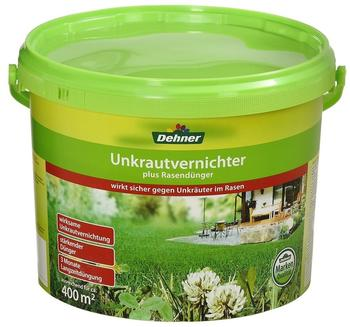 Dehner Unkrautvernichter plus Rasendünger 8 kg