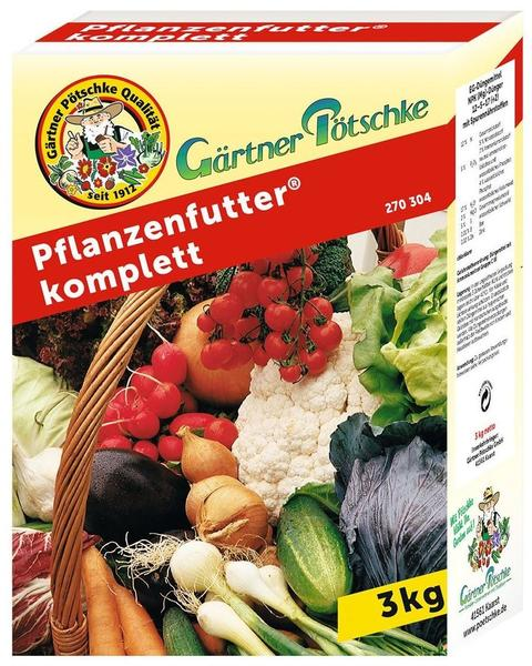 Gärtner Pötschke Pflanzenfutter komplett 3 kg