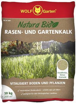 Wolf-Garten Natura Bio Rasen - und Gartenkalk 200 m²