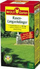 Wolf-Garten Rasen-Langzeitdünger LN