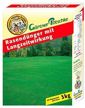 Gärtner Pötschke Rasendünger mit Langzeitwirkung 3 kg