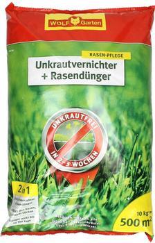 Wolf-Garten Unkrautvernichter & Dünger SQ 500m²