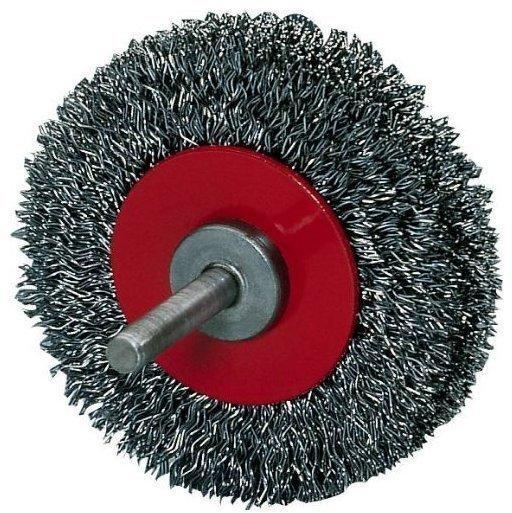 Osborn Rundbürste Stahld. 6mm 80mm gewellt