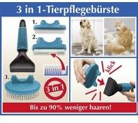 Wenko 3 in 1-Tierpflegebürste, 4-teilig 80970500