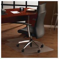 Floortex Bodenschutzmatte Ultimat transparent für Hartböden mit Lippe 90x120cm