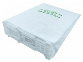eVendix Staubsaugerbeutel 6 Staubbeutel + Mikrofilter Hepafilter + Motorfilter passend für Vorwerk Kobold VK 135 136