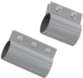 Kärcher Rohrkupplung ø 75 mm mit 3 Klemmschrauben