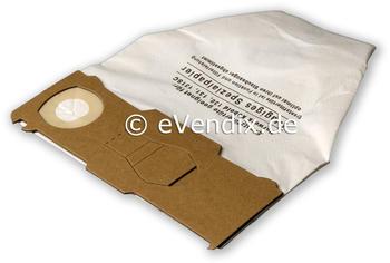 eVendix Filterset passend für Vorwerk Kobold VK 130, VK 131, SC: 10 Staubsaugerbeutel / Staubbeutel + 1 Hygiene-Mikrofilter HEPA