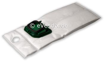 eVendix Filterset passend für Vorwerk Kobold VK 140 / 150: 18 Staubsaugerbeutel + 1 Motorschutzfilter + 2 Rundbürsten EB 360 / EB 370 (1 Paar)