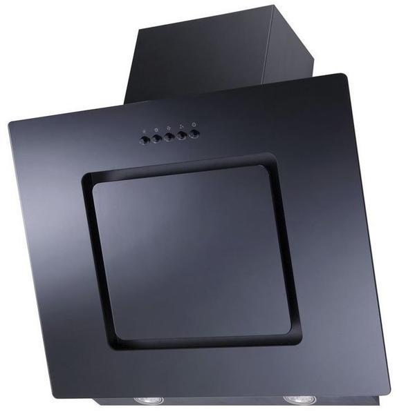 schwarz 60 cm breit Respekta CH 22010-60 SX Dunstabzugshaube