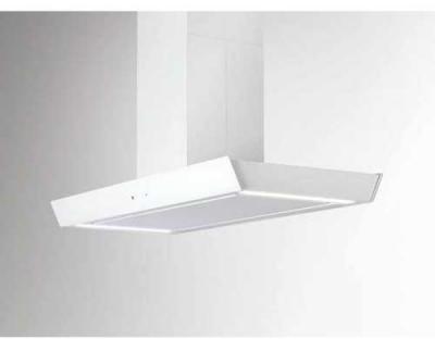 Silverline Vela Isola Premium VAI 920 W 90 cm Weiss/Weissglas