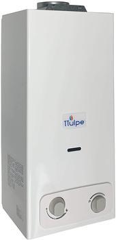 TTulpe Propangas-Durchlauferhitzer Indoor B-6 P37 Eco, 1.5 V, Weiß