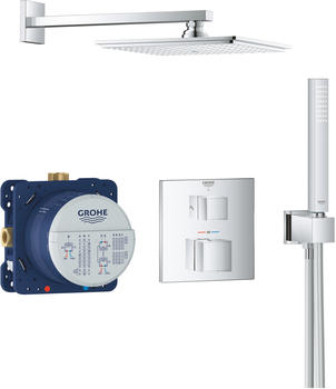 GROHE UP-Duschsystem Grohtherm Cube,34741 chrom,