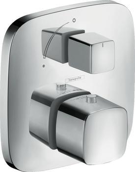 Hansgrohe PuraVida Thermostat Unterputz mit Absperrventil (Chrom, 15775000)