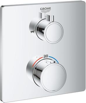GROHE Grohtherm Thermostat-Wannenbatterie mit integrierter 2-Wege-Umstellung (24080000)