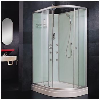 Home Deluxe Poseidon Komplettdusche 120 x 80 cm