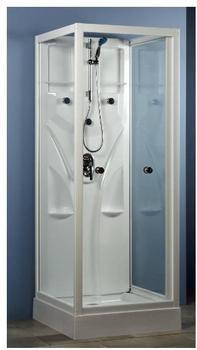 Schulte Juist 80 x 80 x 190 cm (ohne Pumpe und Boiler) weiß