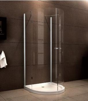 Glasdeals U Duschkabine Solus 90 x 90 cm