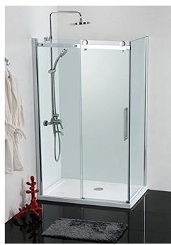 Sanotechnik Elegance Eckeinstieg BxH: 80 x 120 cm