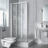 Kermi Nova 2000 Eckeinstieg ED3 0750x2000mm silber mattgl. Kerolan Font.