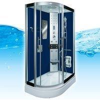 AcquaVapore DTP8060-7202L Dusche Dampfdusche Duschtempel Duschkabine 120x80