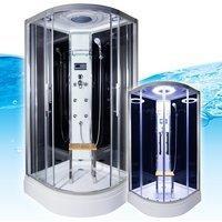 AcquaVapore QUICK26-0300 Dusche Duschtempel Komplette Duschkabine 80x80