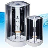 AcquaVapore QUICK18-0300 Dusche Duschtempel Komplette Duschkabine 80x80