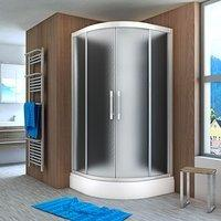 AcquaVapore QUICK18-2310 Dusche Duschtempel Komplette Duschkabine 100x100,